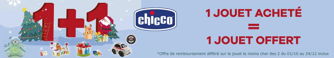 Offre Chicco Jouets 1 acheté 1 remboursé