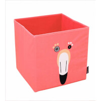 Boîte de rangement Flamingos le flamant Rose