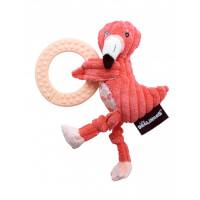 Anneau de dentition Flamingos le Flamant Rose
