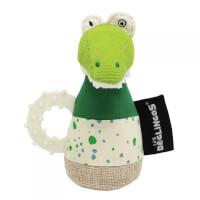 Anneau de dentition maracas Aligatos l'Alligator