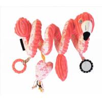 Spirale d'activités Flamingos le Flamant Rose