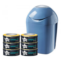 Starter Pack Tec Bleu (1 bac à couches + 6 recharges)