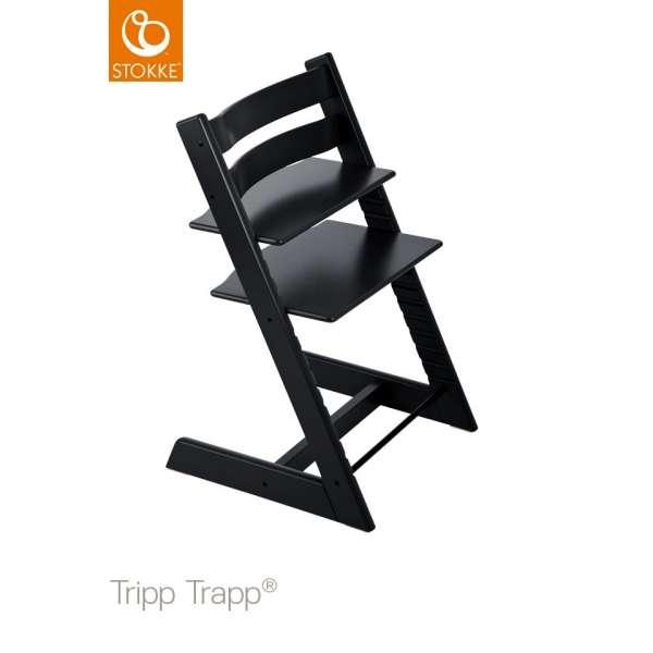 Chaise haute Tripp Trapp Noir