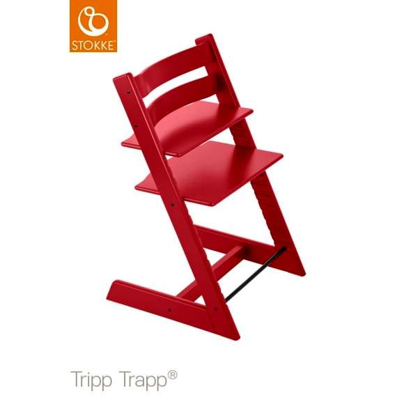 Chaise haute Tripp Trapp Rouge