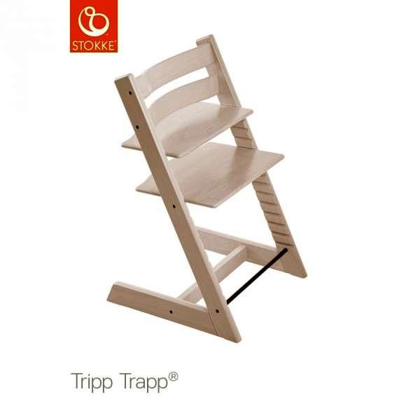 Chaise haute Tripp Trapp Blanchi