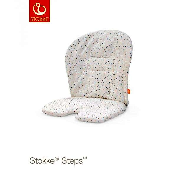 Coussin chaise haute Steps Soft Sprinkle