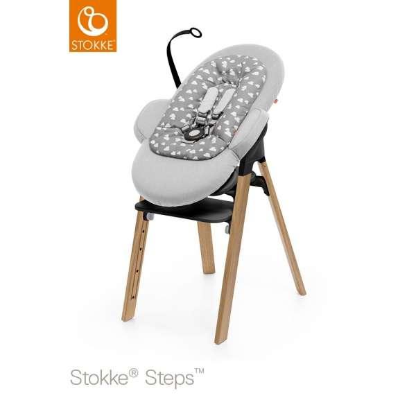 Transat bébé Steps Gris nuage
