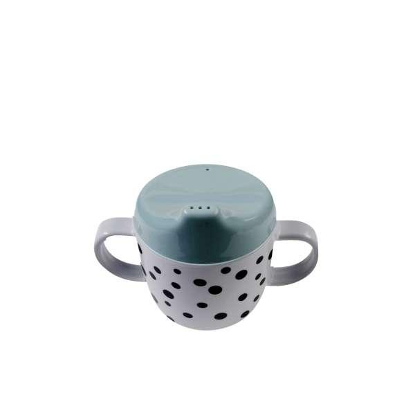 Tasse d'Apprentissage Dots bleu