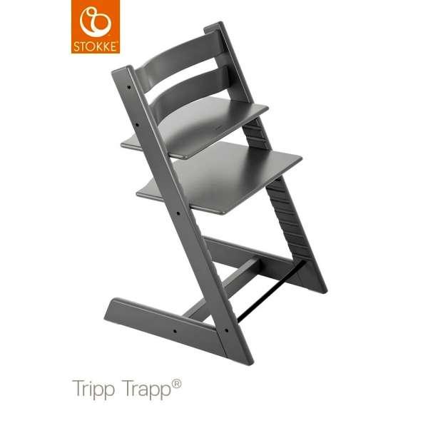 Chaise haute Tripp Trapp Gris tempête