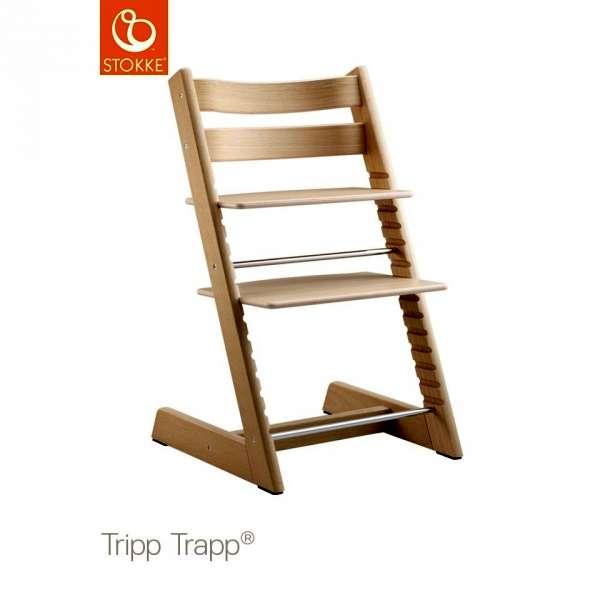 Chaise haute Tripp Trapp Chêne blanc