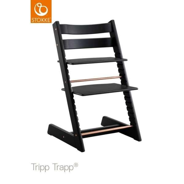 Chaise haute Tripp Trapp Chêne noir