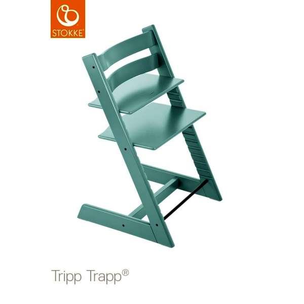 Chaise haute Tripp Trapp Bleu aqua