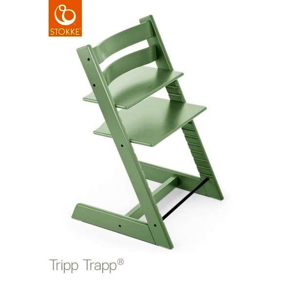 Chaise haute Tripp Trapp Vert tilleul