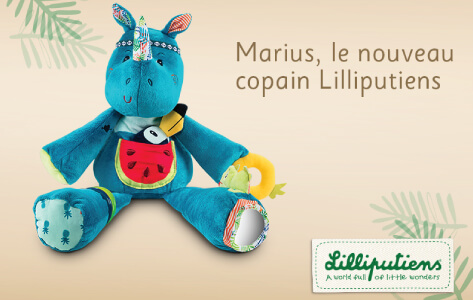Marius le nouveau copain Lilliputiens