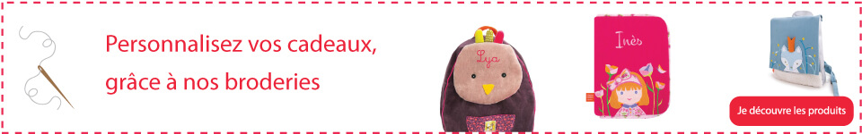 Pour un cadeau intemporel, offrez un produit personnalisé à votre enfant, Moulin Roty, l'Oiseau bateau ...