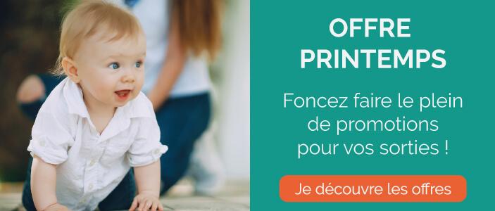 Promotions de printemps pour bébé