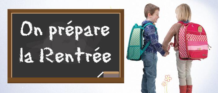 Rentrée scolaire en maternelle ou primaire, la sélection de produits qu'il vous faut (sac à dos, cartable, trousse, crayon, boite à gouter...)