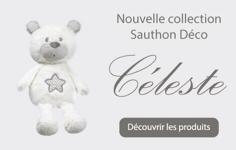 Sauthon Baby Déco, nouvelle collection Céleste