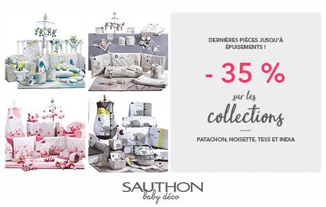 Tess, Patachon, India et Noisette, quatre collections Sauthon Déco à -35%