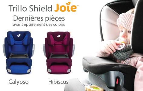 Siège auto Joie, Trillo Shield Hibiscus et Calypso