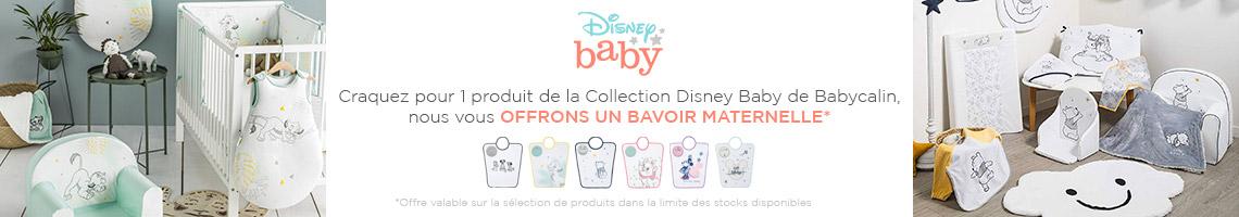 Babycalin Un bavoir offert