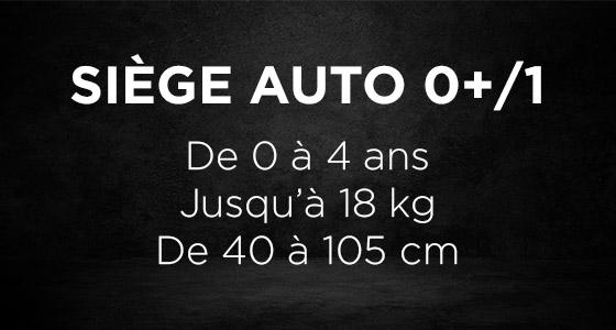 Siège auto ADAC 0+ / 1