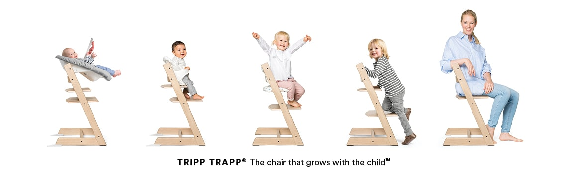 La chaise qui grandit avec l'enfant