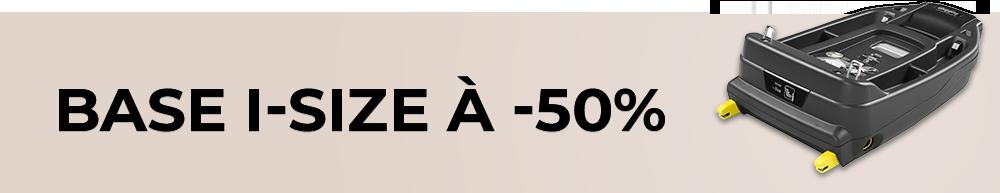 Une base à -50% pour l'acaht de ce produit