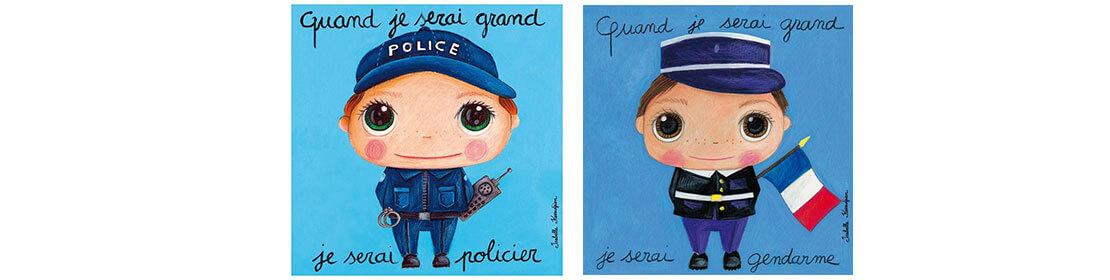 Gendarme et policier Isabelle Kessedjan