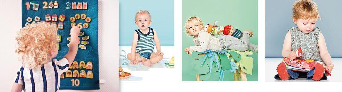 Éveiller bébé avec les jouets Lilliputiens