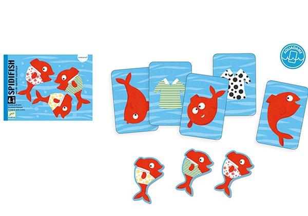 Jeu de cartes Spidifish - Djeco