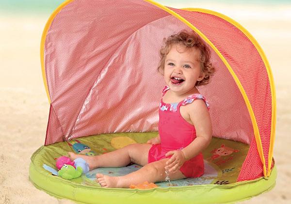 Tente anti UV bébé Abribaby - Ludi Jouets